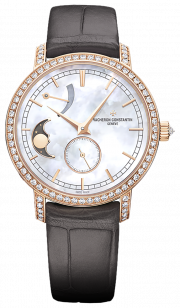 Traditionnelle Moon Phase & Power Reserver Small Model